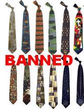 Nanny Bans Ties