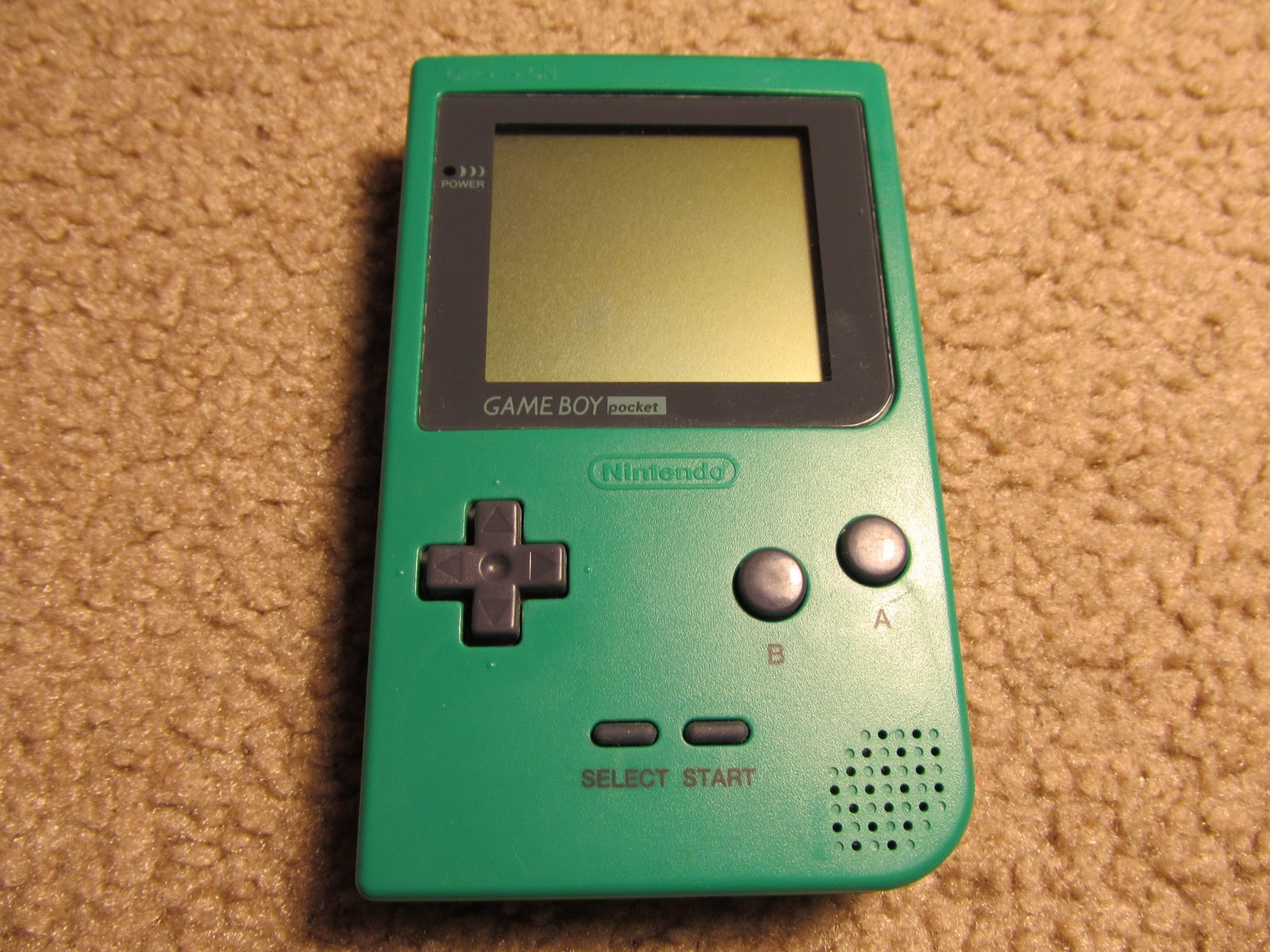 First Video Game you played?? - Page 10 11+Game+Boy+Pocket+Green+Front