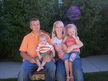 Candace, Scott, Bailee and Jackson