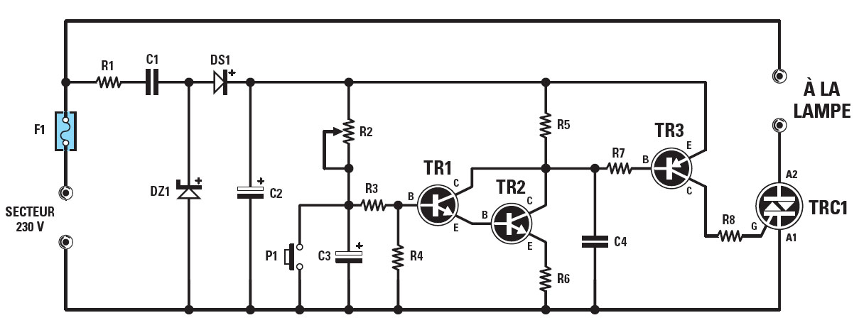 schema montage electronique simple