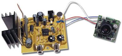 alimentation du module MCA-UHF
