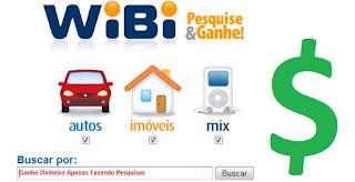 WiBi, O buscador que dá prêmios!