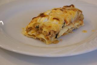 In Dresden wird auch gekocht: Lasagne mit Zucchini und Feta