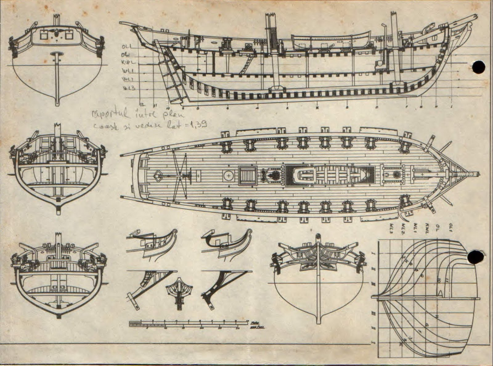 Free modelships plans lexington modelship for Free blueprints online