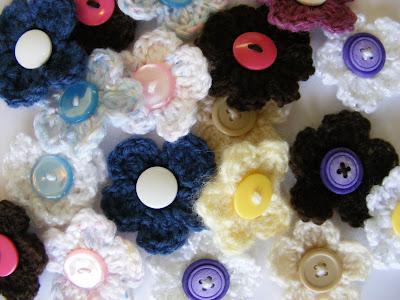 Hair Accessories For A Little Girl Crochet Flowers Free Crochet