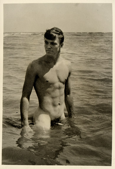 Vintage nude men on the beach pic 198