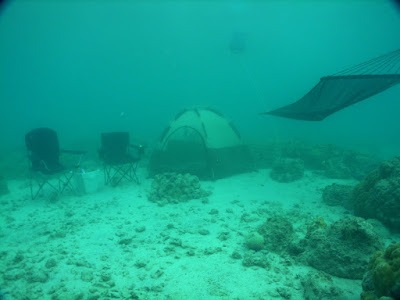 Underwater Camp Site