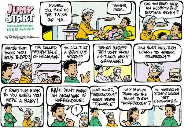the jackson twins comic strip