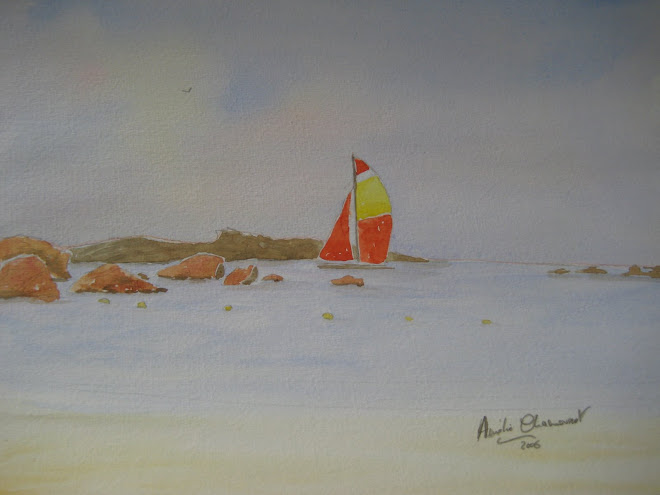 catamaran à la gréve blanche
