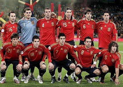 Analise de selecção :  Espanha Espana_hjhjh_kl