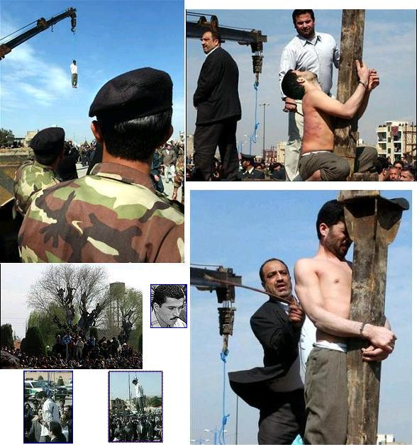 Mohammed Bijeh: Vampire of the Desert publicly flogged, stabbed, and hanged in Iran
