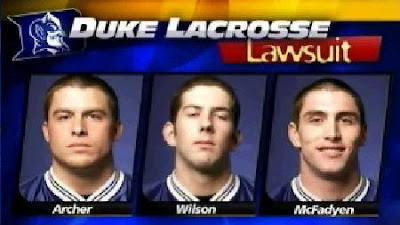 Breck Archer, Ryan McFadyen and Matt Wilson file lawsuit against Duke, Durham, Nifong and DNA Lab