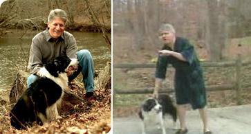 Mike Nifong and his dog
