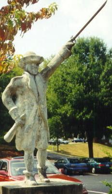Statue of Benjamin Cleveland