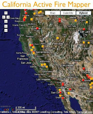 California Active Fire Mapper