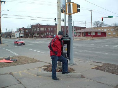 pay phone at Central and St. Francis used by BTK on Dec. 9, 1977