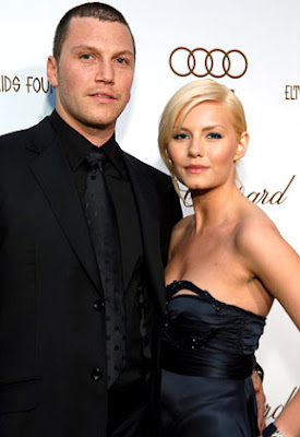 Sean Avery and Elisha Cuthbert