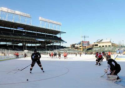 Winter Classic photo: practice