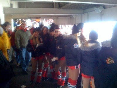 Winter Classic 2009 picture: Red Wings fans