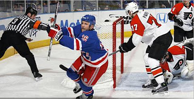 Avery! Avery! Avery! Sean Avery scored two power-play goals in Rangers 4-1 win over the Flyers