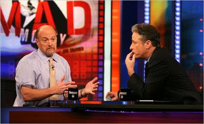 Jim Cramer vs. Jon Stewart