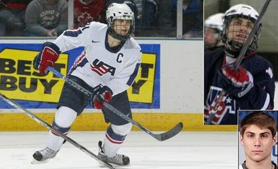Ryan Bourque -- NY Rangers Pick No. 80 Overall