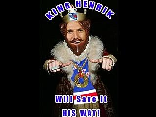 King Henrik will save it his way