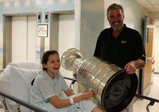 Stanley Cup visits Jersey Shore hospital