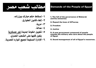 Egyptian protester handbook page 2