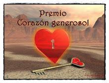 PREMIO CORAZÓN GENEROSO