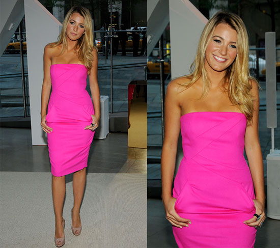 Blake Lively Clothes. THINK PINK