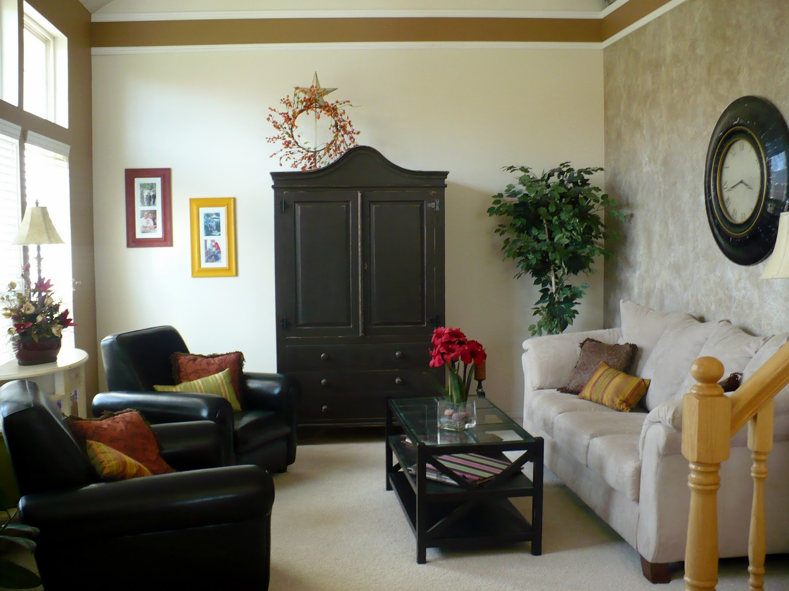 pretty lil posies living room makeover before and after living room makeover before and after
