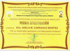 Premio Andaluz de Investigación 2008