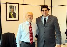 Gustavo Herrmann com José Machado