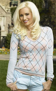 Holly Madison is an American glamour model
