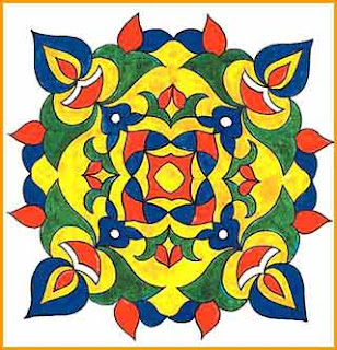 World Hot and Best Wallpapers: Free hand Diwali Rangoli Designs