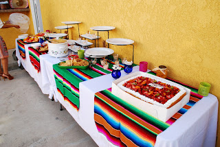 mexican fiesta bridal shower