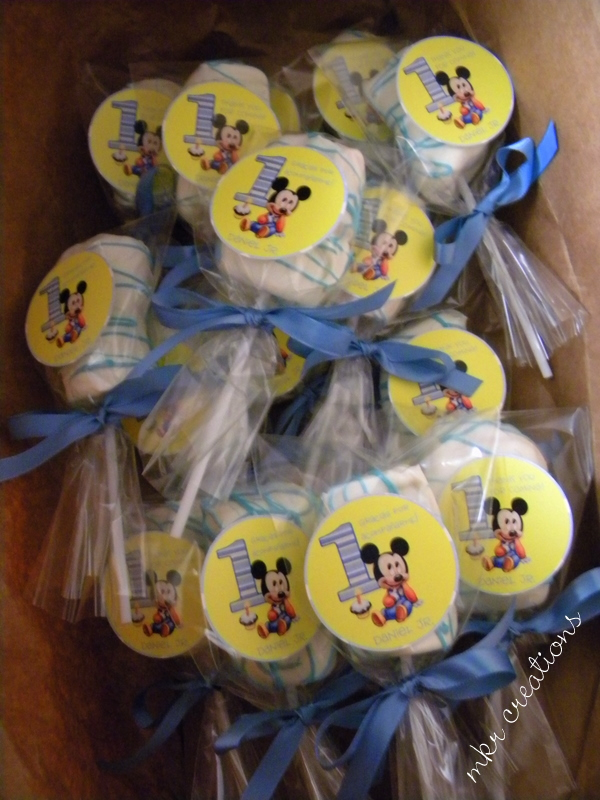 MKR Creations Baby Mickey Favors