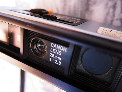 Canon 110ed 20. Photograph by Tim Irving