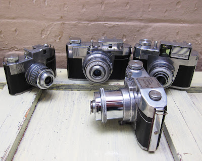 Bencini cameras. Photograph by Tim Irving