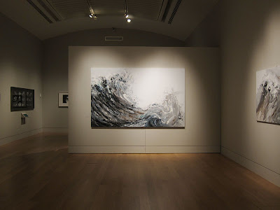 Maggi Hamblin exhibition. Photograph by Tim Irving