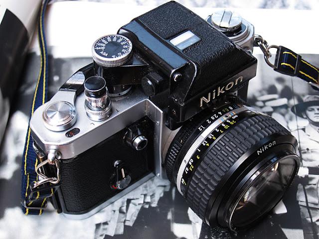 Nikon F2. Photograph by Tim Irving
