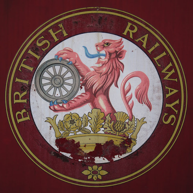 British Railways Logo. Photograph by Tim Irving