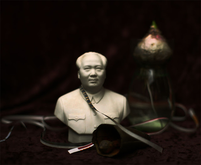 Still Life with Chairman Mao - Photograph by Tim Irving