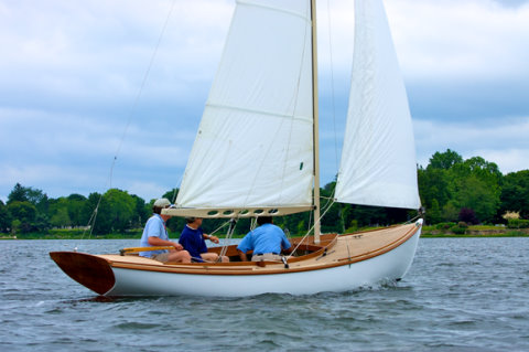 ... Lobster Boat by Ed Ransom, page 161, American Small Sailing Craft)