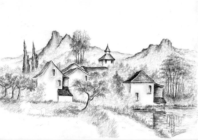 Didier71 village de bretagne - Village dessin ...