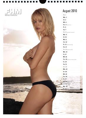 fhm calendar 2010 - 09