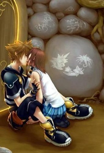 Parodias de One piece Sora-and-Kairi-kissing-kingdom-hearts-240094_340_500