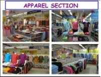 Big bazaar Store Pictures APPAREL SECTION-2