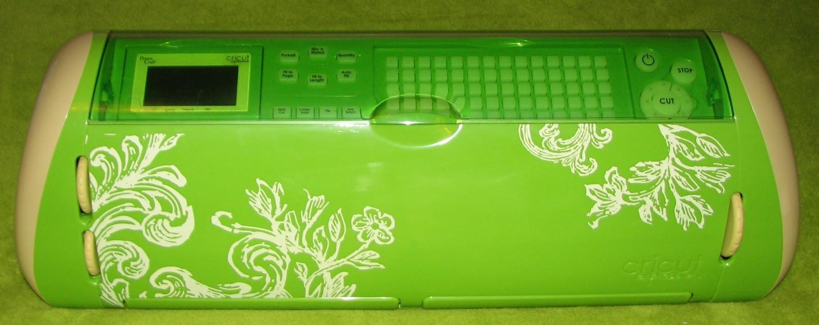 Green Cricut